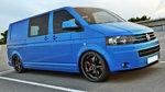 Volkswagen T5 Transporter 2009 t/m 2015 Voorspoiler Spoiler Splitter Versie 2