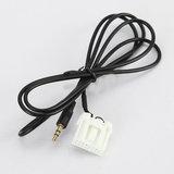 Mazda Aux input kabel interface _9