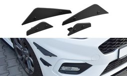 Ford Fiesta MK8 ST / ST Line Racing Canards Front Wings Cup Spoiler