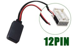 Mercedes Comand APS Audio 20 30 50 12 pin Bluetooth Audio Streaming Adapter Module Aux kabel