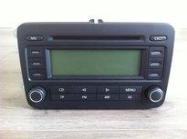 volkswagen radio Rcd 300 Basic zwart