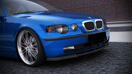 Front Splitter Diffusor Bmw 3 serie E46 Compact Carbon look