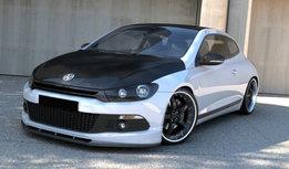 Volkswagen Scirocco R Line Voorspoiler Spoiler Splitter