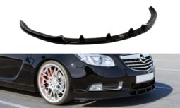 Voorspoiler Spoiler Opel Insignia OPC Line vanaf 2008 t/m 2013 Hoogglans Pianolak Zwart
