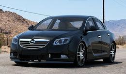 Voorspoiler Spoiler Opel Insignia vanaf 2008 t/m 2013 Hoogglans Pianolak Zwart