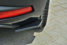 Rear Side Splitters Seat Leon III Cupra FR vanaf 2012 Hoogglans Pianolak Zwart