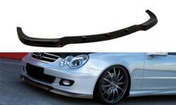 Voorspoiler spoiler Mercedes CLK W209 2006 t/m 2009 Hoogglans Zwart