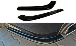 Rear Side Splitters Saab 9-3 Turbo X Hoogglans Zwart
