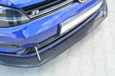Carbon Racing Splitter Voorspoiler Spoiler Volkswagen Golf 7 R R20 Facelift Echt Carbon