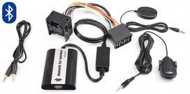 BMW E36 E38 E39 E46 BLUETOOTH, CARKIT, A2DP STREAMING, USB EN AUX INGANG MP3 INTERFACE RONDE PIN AANSLUITING