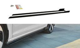 Racing Side Skirt Diffuser Volkswagen Golf 7.5 GTI / GTD FACELIFT
