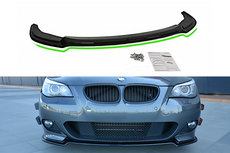 Bmw 5 Serie E60 E61 M Pakket Voorspoiler Spoiler Splitter Versie 2 Carbon Look