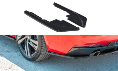 Peugeot 508 SW MK2 Rear Side Splitters Maxton Design