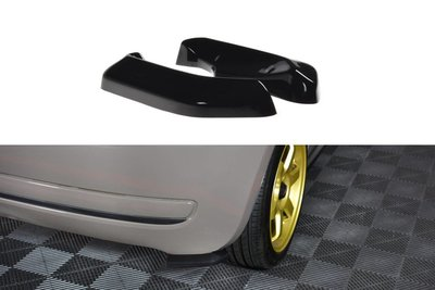 Fiat 500 / 500C Rear Side Splitters
