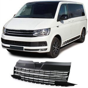 Volkswagen Transporter Multivan T6 GP Sport Grill Zwart / Chrome Embleemloos