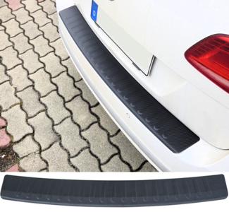 Volkswagen Transporter T6 Bumperbeschermer Bumper Bescherming Carbon Look