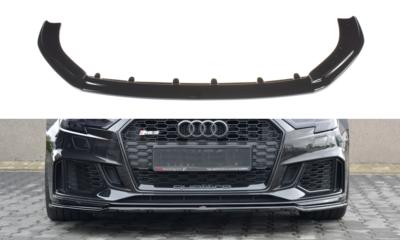 Audi RS3 8V Sportback Facelift Voorspoiler Spoiler Splitter Versie 2