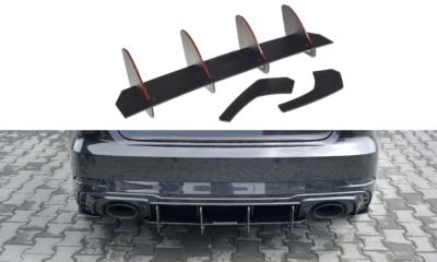 Audi RS3 8V Sportback Facelift Racing Centre Rear Splitter Versie 1