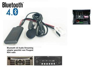 Peugeot 207 307 308 407 607 807 1007 4007 RD4 Bluetooth Carkit Bellen Muziek Streaming Module Adapter Aux Dongle
