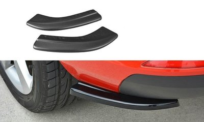 Skoda Rapid Rear Side Splitters Maxton Design