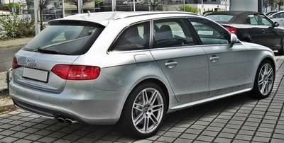 Audi A4 B8 Avant S-Line Look Achterklep spoiler Dakspoiler