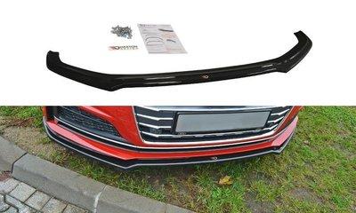 Maxton Design Audi A5 / S5 F5 S-Line Coupe / Sportback Voorspoiler Spoiler Splitter Versie 1