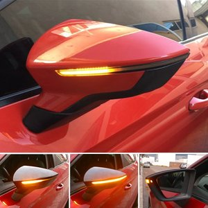 Seat Leon 5F Ibiza KJ Arona KJ7 Dynamische Led Spiegel knipperlichten Dynamic