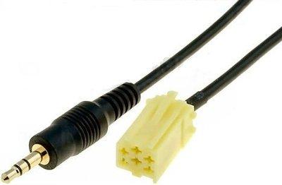 Fiat 500 Aux kabel Fiat 500C aux kabel Fiat 500 Abarth aux kabel