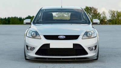 Ford Focus ST Voorpoiler Splitter Face Lift Carbon look