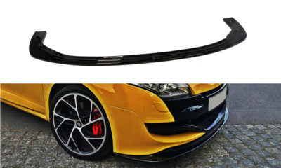 Voorspoiler spoiler Renault Megane 3 RS Versie 2 2010 t/m 2015
