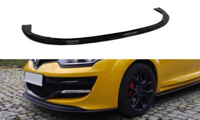 Voorspoiler spoiler Renault Megane 3 RS Versie 1 2010 t/m 2015
