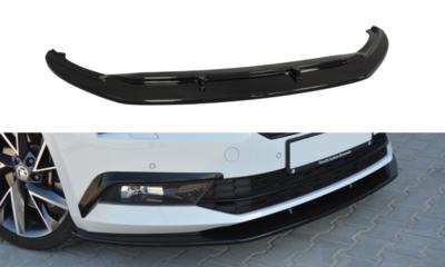 Voorspoiler spoiler Versie 3 Skoda Superb III Carbon Look