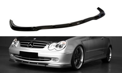 Voorspoiler spoiler Mercedes CLK W209 2003 t/m 2006 Carbon Look