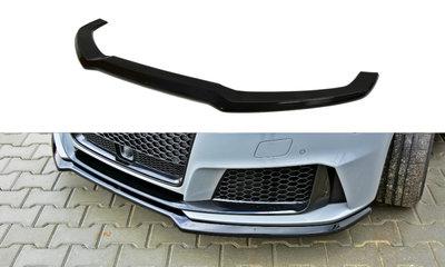 Voorspoiler spoiler Audi RS3 8V Versie 1 Carbon Look