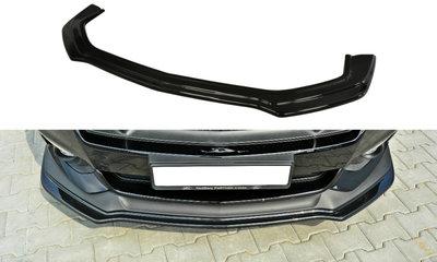 Voorspoiler spoiler Ford Mustang GT MK6 Versie 1 Hoogglans Zwart
