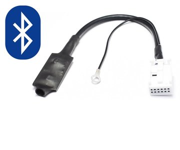 Audi 12 Pin Bluetooth Audio Streaming aux interface Adapter