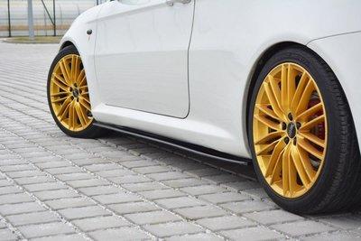 Alfa Romeo GT Sideskirt Diffuser Hoogglans Zwart