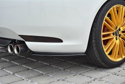 Alfa Romeo GT Rear Side Splitters Hoogglans Zwart