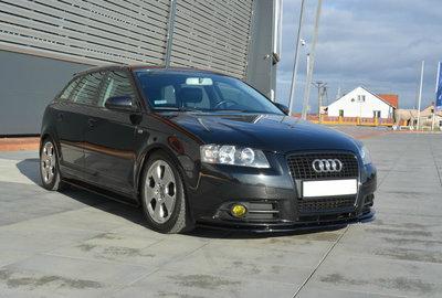 Audi A3 8p Sportback Voorspoiler Spoiler Splitter Versie 1