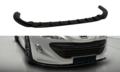 Voorspoiler-spoiler-Peugeot-RCZ-V.1-Hoogglans-Pianolak-Zwart