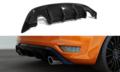 Achterbumper-Diffuser-Ford-Focus-II-ST-Facelift-RS-LOOK-Hoogglans-Zwart