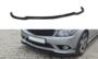 Voorspoiler spoiler Mercedes C Klasse W204 AMG Pakket 2007 t/m 2010 Hoogglans Pianolak Zwart_9