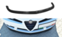 Alfa Romeo Brera Voorspoiler spoiler Hoogglans Zwart_9