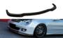 Voorspoiler spoiler Mercedes CLK W209 2006 t/m 2009 Hoogglans Zwart_